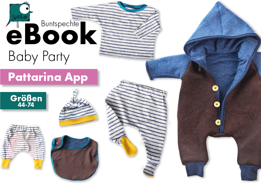 eBook Babyparty Pattarina App